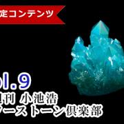 【隔週刊】小池浩 パワーストーン倶楽部  Vol.9【2021年7月4日号】